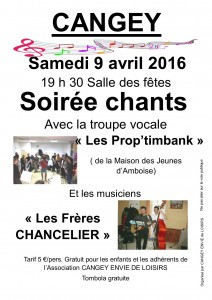 soiree chant